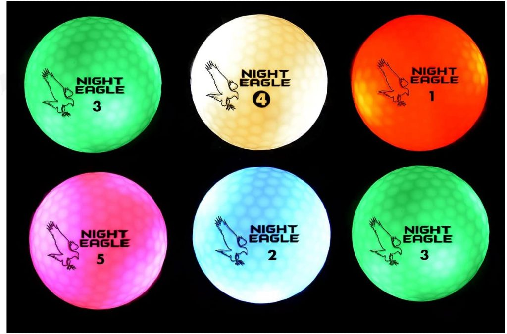 Timerless Night Eagle Golf Ball