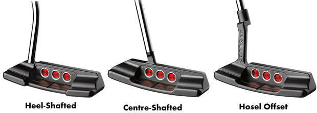 Putter Hosel and Shaft