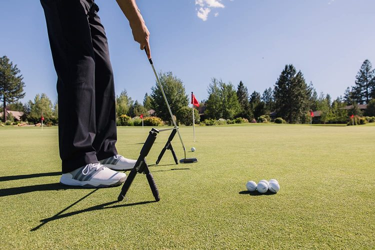 Frogger Golf Arc Angel Putting Trainer