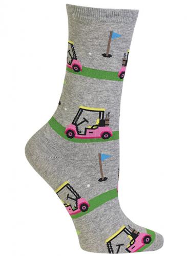 Hot Sox Fun Women's Golf Socks