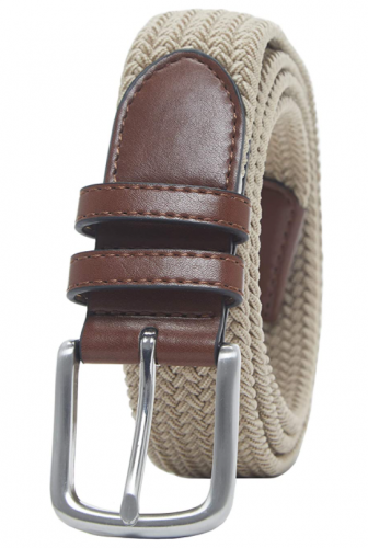 Men's Braided Stretch Belts