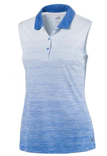 Puma Women's Sleeveless Ombre Golf Shirt